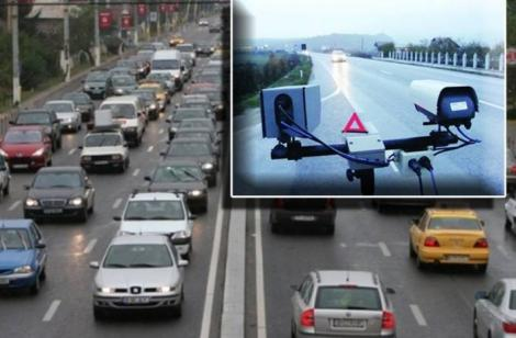 Șoferii pot primi amendă, chiar dacă n-au viteză. Au apărut noi camere video în trafic