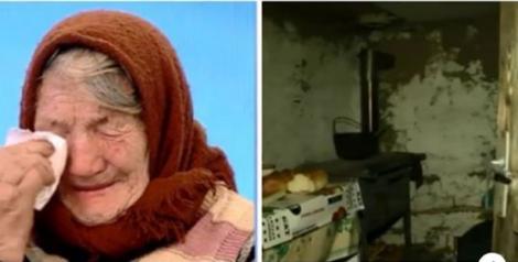 Bunica Maria trăiește în grajd și singura avere sunt două păsări! Femeia are o poveste cutremurătoare