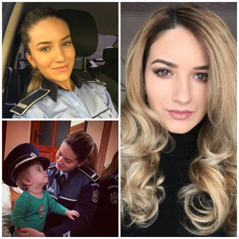 Mamăă, ce talent are noul purtător de cuvânt al Poliției Gorj. Ea este Corina și are corp de Miss (Galerie foto)