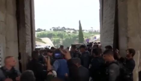 Momente de groază pentru credincioși, la Ierusalim! Ce a apărut pe Muntele Templului