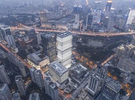 Zgârie-nori inspirat de Coloana Infinitului a lui Constantin Brâncuși, inaugurat în Shanghai! Cum arată clădirea de 38 de etaje