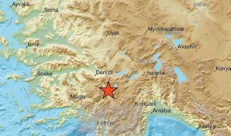 Turcia, lovită de un cutremur de 5,5 grade! Nu se știe dacă sunt victime, dar mai multe locuințe au fost avariate
