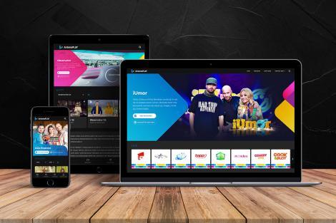Platforma AntenaPlay, refresh de design și tehnologie