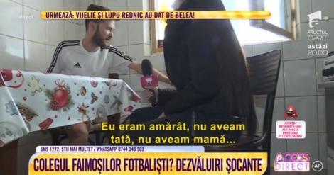 Drama unui fotbalist de la Dinamo: ,,Eram un amărât. M-am drogat din 1998, de la 12 ani. Am jucat cu Adrian Mutu și Ciprian Marica''