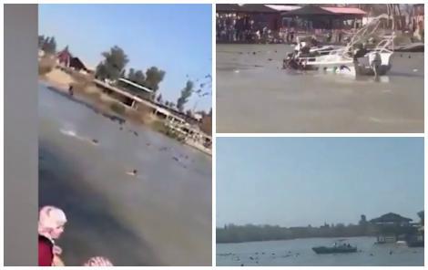 Tragedie pe apă! Peste 70 de persoane au murit după ce o ambarcațiune turistică s-a scufundat în Tigru!