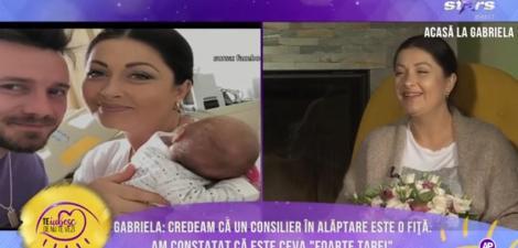 Gabriela Cristea, despre prima noapte petrecută împreună cu fiicele sale: ,,Inițial, Victoria nu o băga în seamă pe micuța Iris. Acum a început să o accepte''