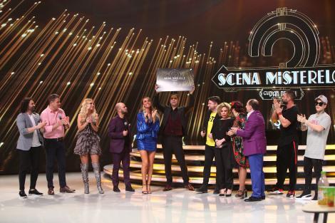 """Show magic și transformări de senzație! Echipa Starurilor a câștigat a patra ediție a emisiunii """"Scena misterelor"""""""