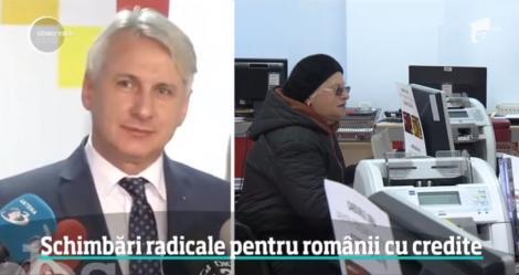 Veste uriașă pentru românii cu credite în lei! Ministrul Finanțelor a făcut anunțul