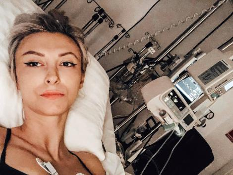 Andreea Bălan, momente de panică după a treia operație Medicii fac eforturi pentru a rezolva problemele
