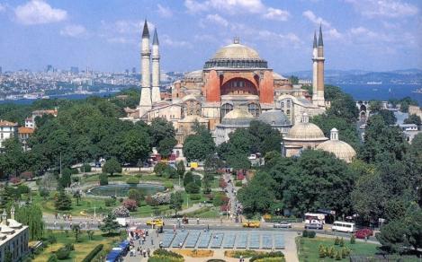"""Președintele Erdogan vrea să redenumească fosta bazilică Sfânta Sofia în """"moscheea Sfânta Sofia"""""""