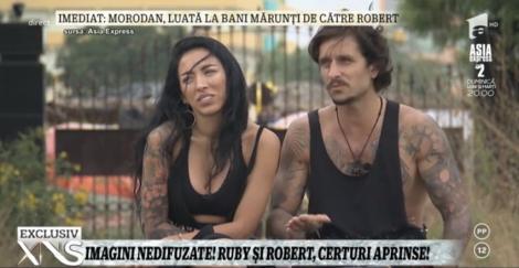 """Imagini nedifuzate de la """"Asia Express""""! Ruby și Robert, o nouă discuție aprinsă: """"Îmi strici orice bucurie!"""""""