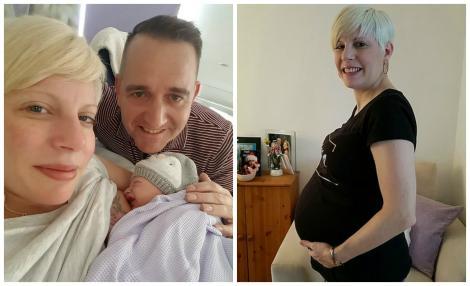 """A pierdut opt sarcini, în zece ani! Mărturisirile unei femei care a devenit mamă: """"Nu-mi vine să cred că e aici!"""""""