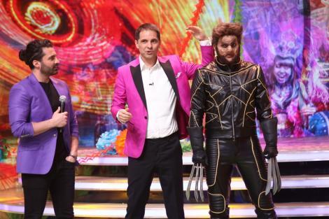 """Wolverine, Baiazid și Omul-amfibie urcă diseară pe """"Scena misterelor"""""""