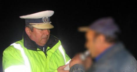 Un bărbat din Timiș, prins la volan beat mort, fără permis și cu mașina neînmatriculată! Ce alcoolemie avea