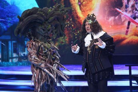 """Copacul Străjer, cel mai tare costum de la """"Scena Misterelor! Două indicii au dat imediat vedeta de gol! Ai fi ghicit?"""