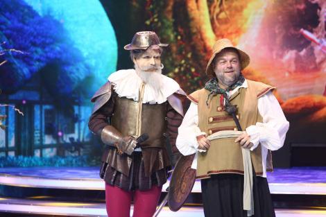 Don Quijote și-a dat masca jos și vedetele au avut o surpriză uriașă! Cine s-a ascuns în spatele celebrului personaj?