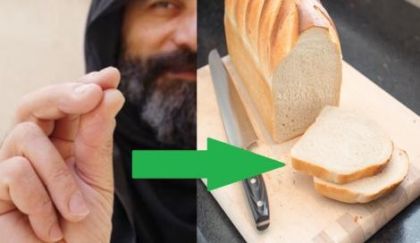 Ce se întâmplă dacă faci cruce peste mâncarea din farfurie! Vei rămâne surprins