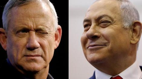 Alegeri Israel: Partidele Likud și Albastru şi Alb se află la egalitate, însă Netanyahu este favorit pentru a forma guvernul