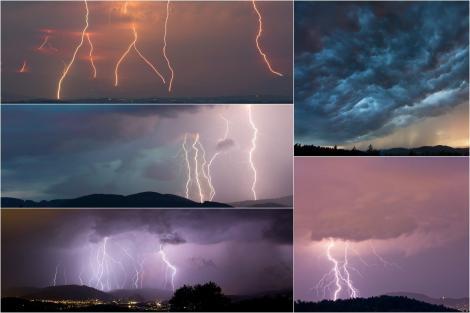 Vremea în weekend 13-14 aprilie 2019. Ploi puternice în București și în țară