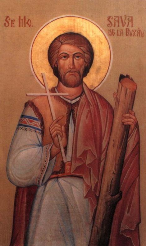 12 aprilie, rugăciunea Sfântului Mucenic Sava de la Buzău pentru ajutor imediat