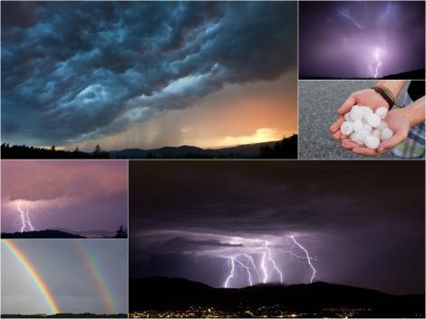 Alertă meteo în România. Când scăpăm de ploi și ninsori