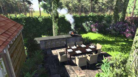 Cum să-ți pregătești grădina pentru vara călduroasă! Bucătăria în aer liber, o adevărată binecuvântare!