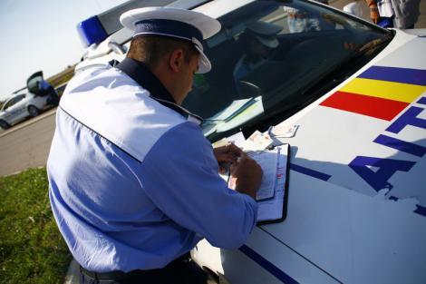 Șoferii vor putea să plătească amenzile rutiere direct la polițist! Iată în ce condiții!