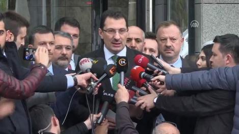 Partidul lui Erdogan cere anularea scrutinului de la Istanbul şi organizarea unor noi alegeri muncipale în oraş