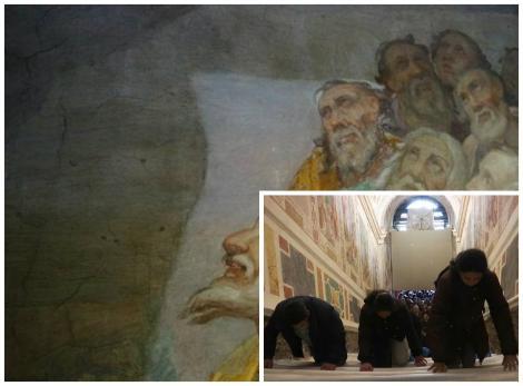 """A fost dezvelită după 300 de ani. Credincioșii vor călca pe trepte sfinte:""""Aici a pășit însuși Iisus Hristos!"""""""