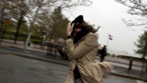 Cod galben de vreme severă în România. Vântul atinge rafale de 60-65 km/h