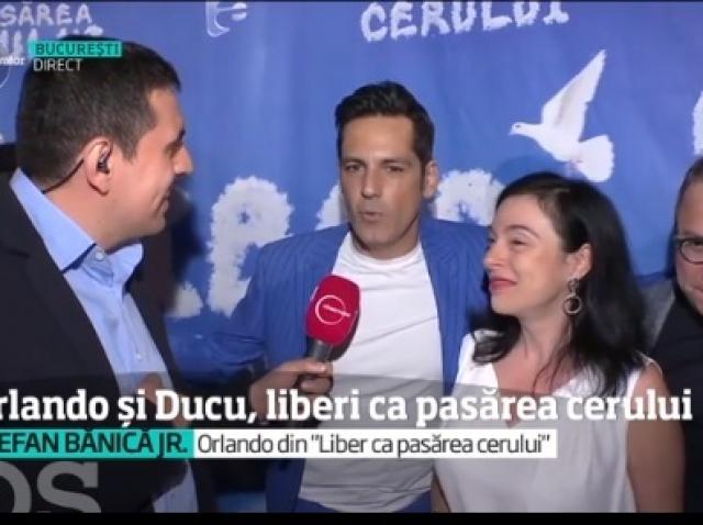 """Începe serialul de comedie """"Liber ca pasărea cerului"""". Ştefan Bănică şi Marius Florea Vizante, în rolurile principale"""