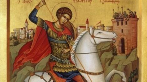 Sfântul Gheorghe, 23 aprilie. Când va fi sărbătorit de Biserică