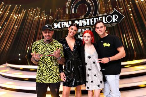 Antonia și Alex Velea, Cristina Ciobănașu și Vlad Gherman vor ghici celebritățile din spatele măștilor, la Scena misterelor