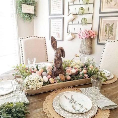 Ornamente simbolice pentru masa de Paște. Ce să nu-ți lipsească de pe masă
