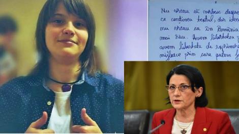 """Ministrul Educației, mesaj pentru eleva din Satu Mare care a luat nota 1 la simulare:""""Lucrurile nu se pot schimba peste noapte!"""""""