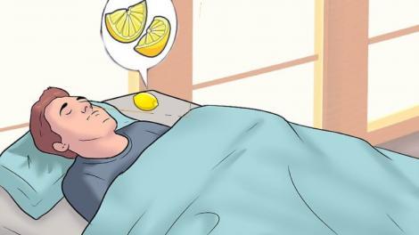 Ce se întâmplă dacă pui felii de lămâie lângă pat! Efectul se vede cu ochii liberi