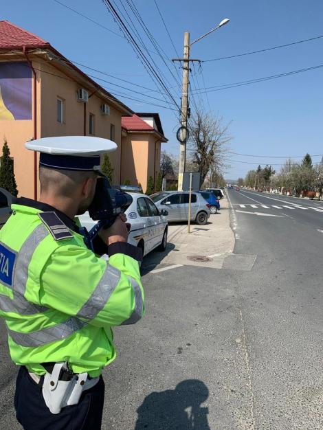IGPR: Peste 53.000 de maşini, verificate în cadrul acţiunii TISPOL Speed; 2.240 de şoferi au rămas fără permis de conducere
