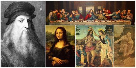 """S-a aflat secretul acestor tablouri inegalabile. Ce se ascunde în spatele """"Cinei cea de Taină"""" și a """"Monalisei"""""""