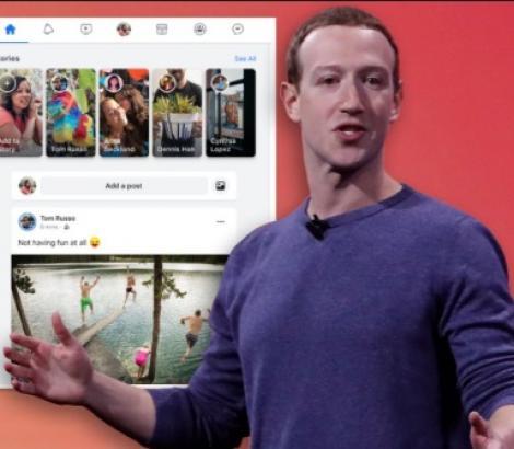 Facebook, design complet schimbat! Cum va arăta și ce noutăți există