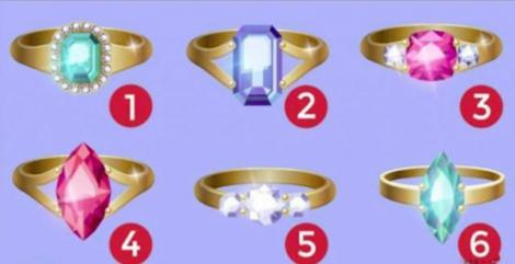 Alege inelul cu diamant care îţi place cel mai mult! Află ce spune despre personalitatea ta