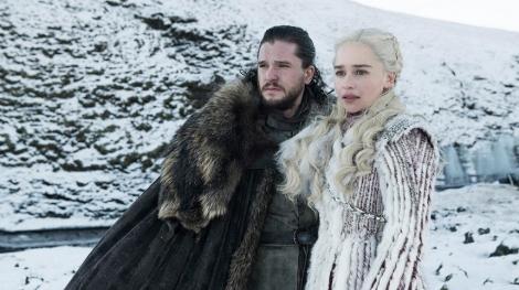 """Game of Thrones"", la final - Actorii Emilia Clarke, Sophie Turner şi Jacob Anderson, mesaje de adio"