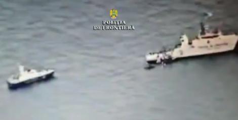 Focuri de armă și ambarcațiune scufundată, în Marea Neagră! Trei persoane au fost rănite