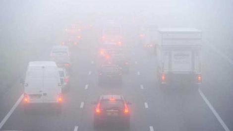 România, sub informare meteorologică de vreme rea: cod galben de ceață