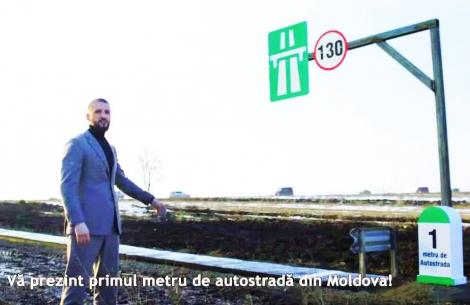 """Ștefan Mandachi a izbucnit după ce a văzut că hoții i-au furat decorul metrului de autostrada: """"Niște dilii, dacă au putut să facă așa ceva!"""""""