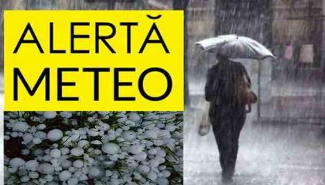 România, lovită de ploi torențiale și furtuni! Avertizarea de vremea rea intră în vigoare în mai puțin de două ore!