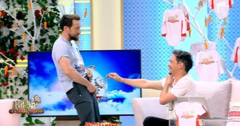 """Neatza cu Răzvan și Dani. Răzvan Simion și Dani Oțil, scandal în direct: """"Ce să fur de la tine, bă? Ai trei expresii din '98 de când ai început"""""""