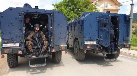 Tensiuni între Serbia şi Kosovo după un raid al poliţiei kosovare într-o zonă locuită de sârbi