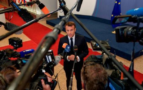 Emmanuel Macron vrea să influenţeze noul peisaj european