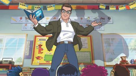 """Arnold Schwarzenegger, în serialul animat """"Stan Lee's Superhero Kindergarten"""""""