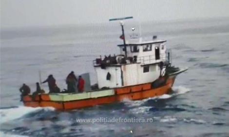 Un al doilea marinar de pe pescadorul turcesc prins la braconat de poliţiştii de frontieră a fost arestat preventiv